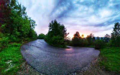 Drumul din Pasul VÂLCAN